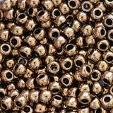 Toho seed beads round bronze 2 mm TR-11-221