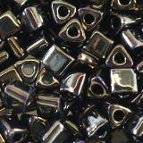Toho beads triangle metallic iris brown 3 mm TG-08-83
