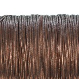 Rayon soutache cord 2.5 mm metallic bronze