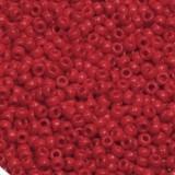 Perles Miyuki round opaque red 11/0 #11-408