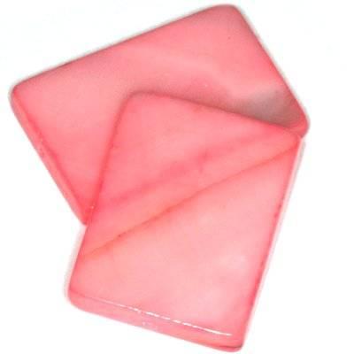masa perłowa prostokąty 15 x 20 mm różane