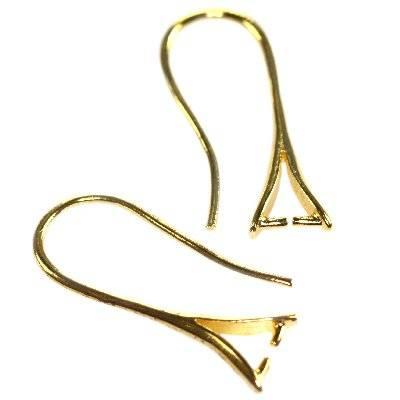 supports boucle d'oreilles à pendentif 23 mm