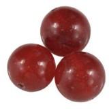 jadeit rubinowy 8 mm kamień naturalny barwiony