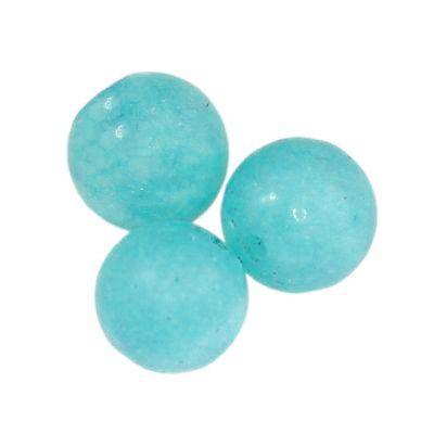 round mat jade azure 4 mm