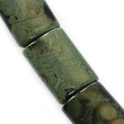 jasper kambaba bricks 14 x 20 mm / semi-precious stone
