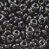 Toho beads demi round opaque jet 2.2 mm TN-11-49