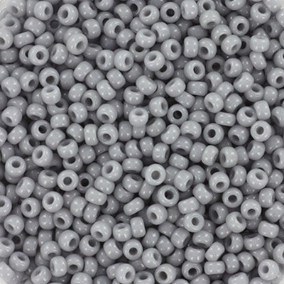 koraliki Miyuki round opaque gray 11/0 #11-498