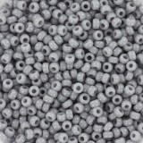 korálky Miyuki round opaque gray 11/0 #11-498