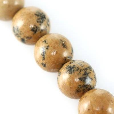 picture jasper beads china 8 mm / semi-precious stone