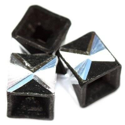 kostki aluminiowe czarne 8 mm