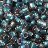 Toho beads takumi lh round inside-color rainbow crystal/lt. ca 2 mm TTR-11-263