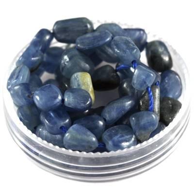 premium chips natural blue quartz 5 - 9 mm