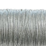sznurek sutasz Rayon USA 2.5 mm metallic silver