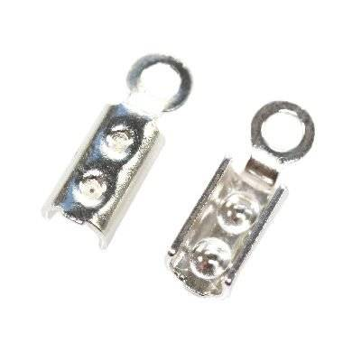 sterling silver 925 clasp for leather wire