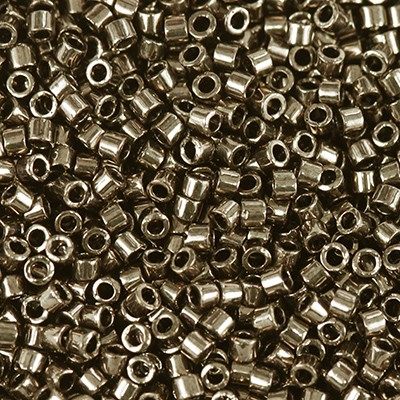 Miyuki Delica Beads metallic light bronze 1.6 x 1.3 mm DB-22L