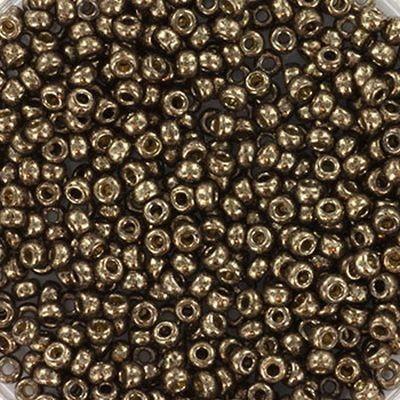 koraliki Miyuki round metallic dark bronze 11/0 #11-457