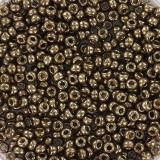 Perline Miyuki round metallic dark bronze 11/0 #11-457