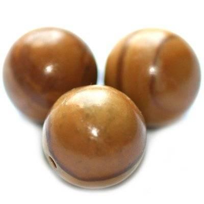 picture jasper beads china 12 mm / semi-precious stone