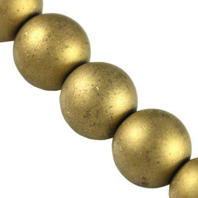Beads Lunar gold 12 mm