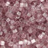 Miyuki pärlor Delica antique rose silk satin 1.6 x 1.3 mm DB-0678 / seed beads