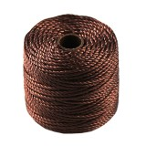 nici S-LON Macrame Tex 400 0.9 mm brown - nić do makramy