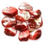 седеф късчета големи червени 1-2.5 см
