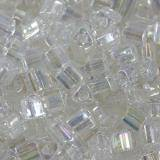Toho beads triangle trans-rainbow crystal 2 mm TG-11-161