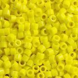 Miyuki Delica opaque yellow 1.6 x 1.3 mm DB-0721