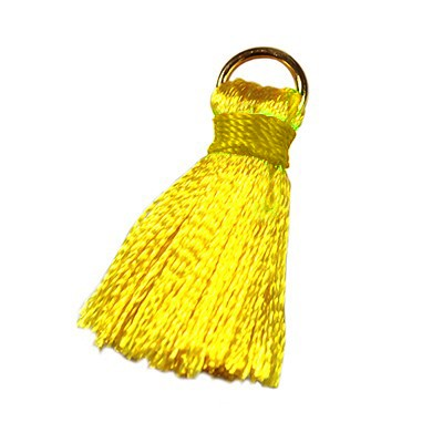 tassels gold 21 mm metal ring