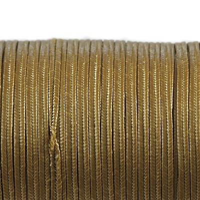 Rayon soutache cord 2.5 mm metallic ant gold