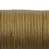 Rayon soutache cord 2.5 mm metallic ant gold