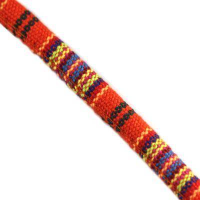 tkanina kábel červené a žlté 7 mm