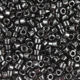 Miyuki Delica beads opaque black 1.6 x 1.3 mm DB-0010