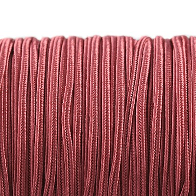 Rayon soutache cord 2.5 mm rose