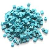 turquoise chips / semi-precious stone synthetic
