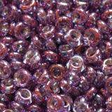 perline Toho demi round gold-lustered dark amethyst 2.2 mm TN-11-205