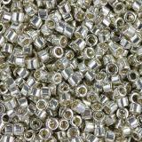 Miyuki Delica galvanized silver 1.6 x 1.3 mm DB-0035