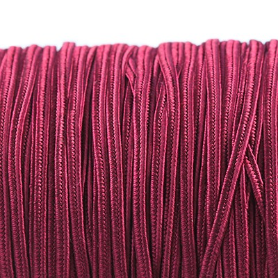Rayon soutache cord 2.5 mm merlot
