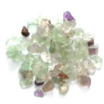 fluorite chips purple / semi-precious stone