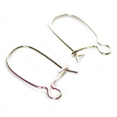 sterling silver 925 ear wire closable small