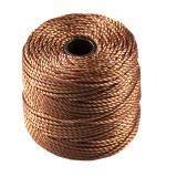 nici S-LON Macrame Tex 400 0.9 mm copper - nić do makramy