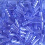 glass beads tubes sweet violet 4.5 mm