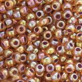 Toho beads round inside-color rainbow hyacinth/opaque purple 2 mm TR-11-1825