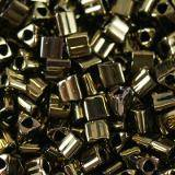 Toho beads triangle antique bronze 2 mm TG-11-223