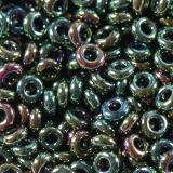Toho beads demi round higher-metallic iris olivine 2.2 mm TN-11-508