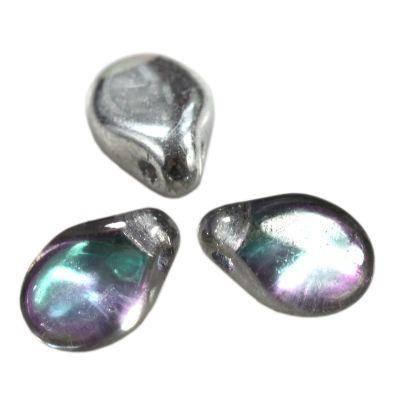 PIP crystal graphite rainbow 7 x 5 mm