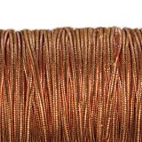 Rayon soutache cord 2.5 mm metallic copper