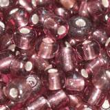 perles de graine de verre améthyste 3,5 mm