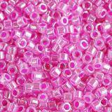 Perles Miyuki Delica ceylon hot pink 1.6 x 1.3 mm DB-0247
