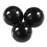 round black obsidian 4 mm